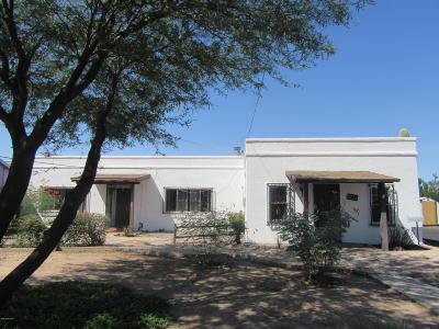 Tucson Single Family Home For Sale: 1633 N Columbus Boulevard