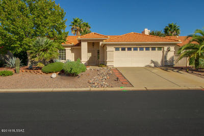 Saddlebrooke Single Family Home For Sale: 65550 E Canyon Drive