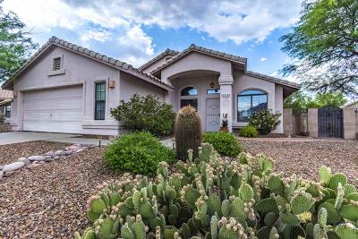 Tucson Single Family Home Active Contingent: 1515 E Ganymede Drive