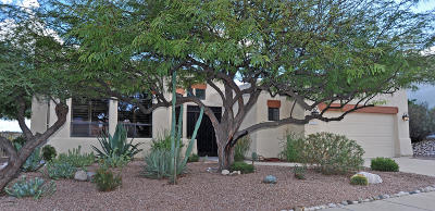 Tucson Single Family Home Active Contingent: 3429 W Foxes Den Dr.
