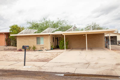 Tucson Single Family Home Active Contingent: 6643 N Positano Way