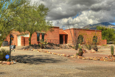 Tucson Single Family Home Active Contingent: 5031 N Stonehouse Place