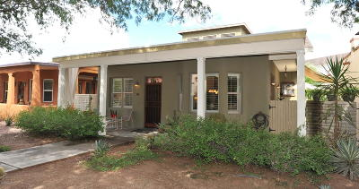 Tucson AZ Single Family Home Active Contingent: $399,000
