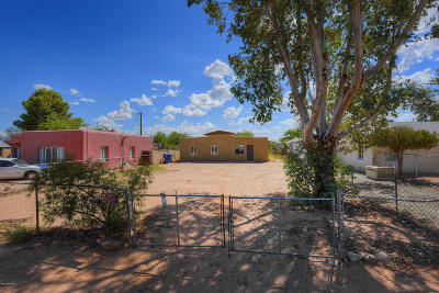 Pima County Single Family Home Active Contingent: 319 W District Street