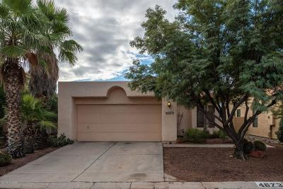 Tucson Single Family Home Active Contingent: 4673 W Lessing Lane