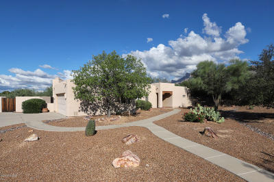 Tucson Single Family Home Active Contingent: 1124 W Saddlehorn Place