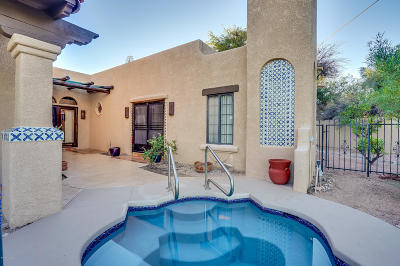 Tucson Single Family Home For Sale: 4555 N Camino Real
