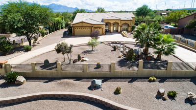 Sahuarita Single Family Home Active Contingent: 1355 W Bosque Drive