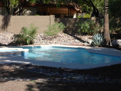 Tucson Single Family Home Active Contingent: 5735 N Via Umbrosa
