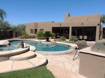 Tucson Single Family Home For Sale: 4625 E Rail N Road