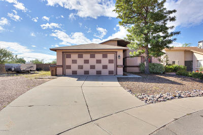 Tucson Single Family Home Active Contingent: 9285 N Yorkshire Court