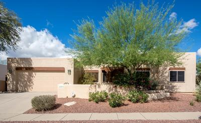 Tucson Single Family Home Active Contingent: 6593 N Shadow Run