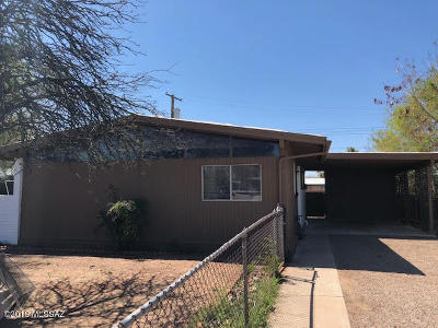 Pima County, Pinal County Single Family Home For Sale: 1822 S Baxter Place