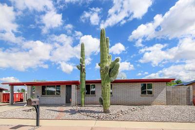 Tucson Single Family Home Active Contingent: 7345 N Pilgrim Place