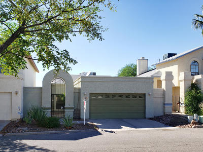 Pima County Townhouse Active Contingent: 8679 N Auriga Way