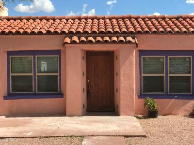 Tucson Single Family Home For Sale: 2906 N Palo Verde Avenue