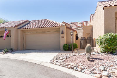 Tucson Townhouse For Sale: 6123 N Golden Eagle Drive