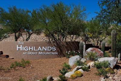 Heritage Highlands, Heritage Highlands At Redhawk (1-392), Heritage Highlands Iii At Dove Mountain (542-719), Heritage Highlands Iv At Dove Mountain (720-844), Heritage Highlands Vi At Dove Mountain (977-1146), Heritage Highlands Vii At Dove Mountain(1147-1298) Single Family Home Active Contingent: 5376 W Winding Desert Drive