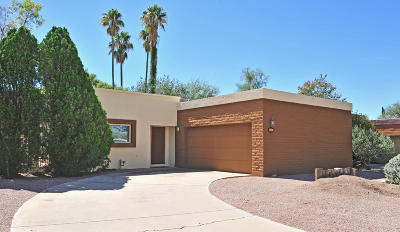 Tucson Single Family Home Active Contingent: 4770 E Flower Street