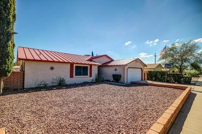 Tucson Single Family Home Active Contingent: 3573 W Raintree Drive