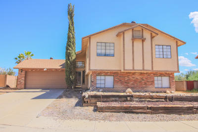 Pima County Single Family Home For Sale: 9960 N Camino Del Sauce