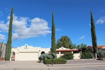 Green Valley Single Family Home Active Contingent: 132 W La Canoa
