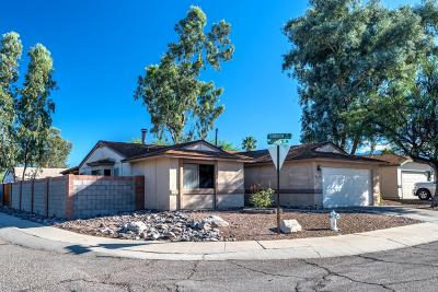 Tucson Single Family Home Active Contingent: 2580 W Falbrook Way