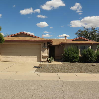 Tucson Single Family Home Active Contingent: 8680 N Chinaberry Way