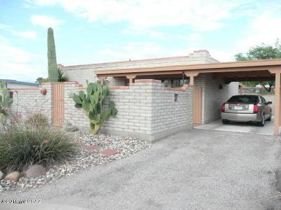 Pima County Single Family Home Active Contingent: 4847 S Calle De La Faena