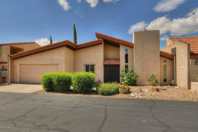 Tucson Townhouse Active Contingent: 5733 N Camino De Las Estrellas