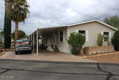Pima County Manufactured Home For Sale: 232 W Weisshorn Street