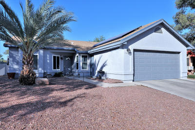 Tucson Single Family Home For Sale: 5149 W Malachite Place