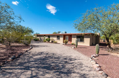 Pima County Single Family Home For Sale: 6805 N Pomona Road