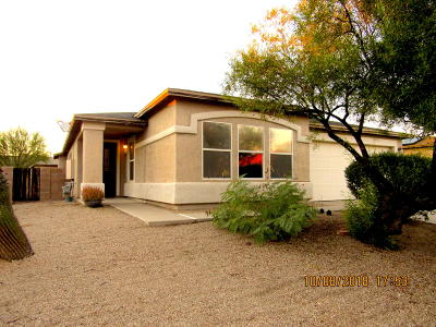 Tucson Single Family Home Active Contingent: 3624 S Desert Echo Road