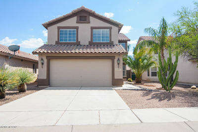 Pima County Single Family Home Active Contingent: 2651 W Desert Bluffs Court