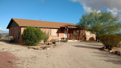Marana Single Family Home Active Contingent: 9774 N Running Back Way