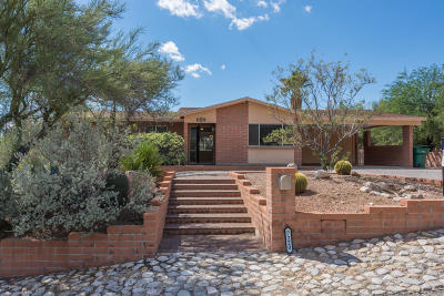 Tucson Single Family Home Active Contingent: 7220 E Rocky Creek Drive