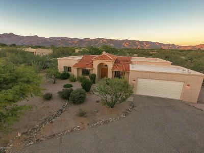 Tucson Single Family Home For Sale: 2480 N Winding Place