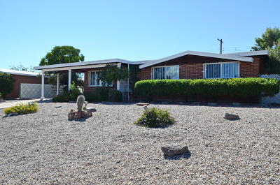 Tucson Single Family Home Active Contingent: 1851 W Camelot Road