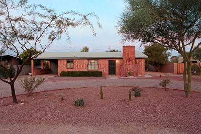 Tucson Single Family Home For Sale: 3227 N Wilson Avenue