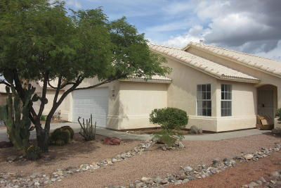 Tucson Single Family Home Active Contingent: 8732 N Sayante Way
