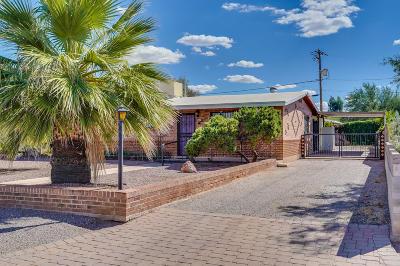 Tucson Single Family Home Active Contingent: 3702 E Edison Street