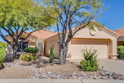 Oro Valley Single Family Home Active Contingent: 2137 E Amaranth Street