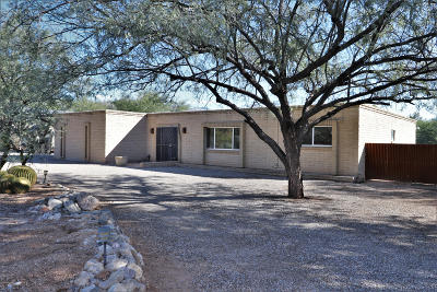 Tucson Single Family Home Active Contingent: 3142 N Tomahawk Trail