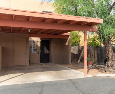 Tucson Townhouse Active Contingent: 712 W Limberlost Drive #33