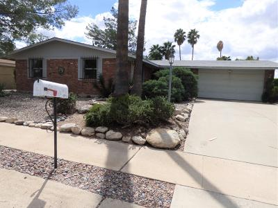 Single Family Home For Sale: 9142 E Palm Tree Drive