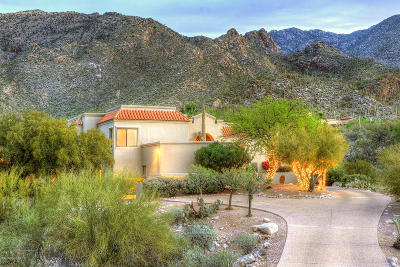 Tucson Single Family Home For Sale: 6101 E Finisterra