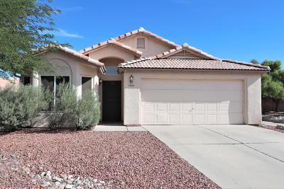 Tucson Single Family Home Active Contingent: 2872 N Bronze Creek Way