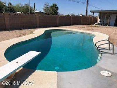 Tucson Single Family Home Active Contingent: 761 W Baffin Drive