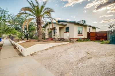 Tucson Single Family Home For Sale: 1215 N Tyndall Avenue